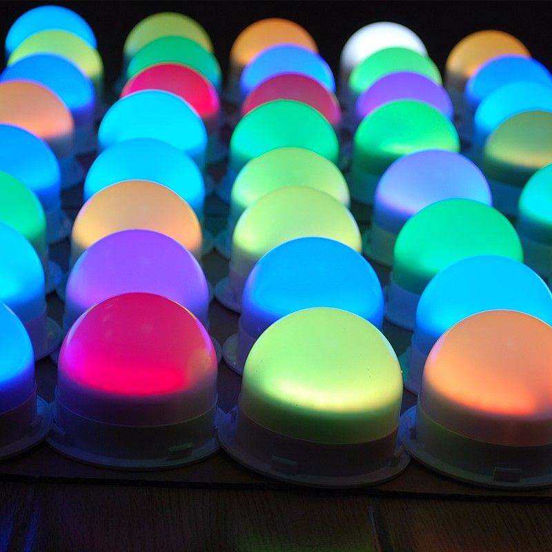 Color Changing RGB Led Under Table