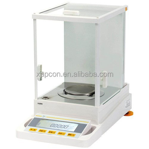 High Precision 220g/0.0001g LCD Display Analytical Electronic Balance