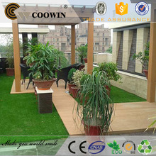 Eco-friendly cost-effective wpc pergola flooring
