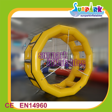 Water park inflatable water roller inflatale roller wheel for pool
