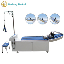 Adjustable Cervical & Lumbar Treatment Traction Bed in Hospital
