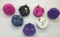 China supplier electrical adapter plug EU/UK to South Africa