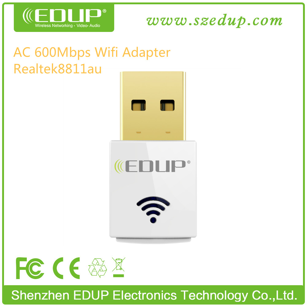 2016 New Product EDUP EP-AC1619 Wifi Wlan Adapter ac600 Dual Band 5 ghz usb mini wifi wireless adapter