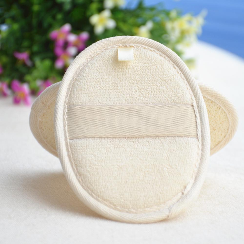 Hotselling disposable bath loofah, loofah bath pad, spa loofah sponge
