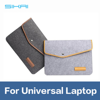 2016 Premium 11-15 Inch Double Layer Anti Impact wool felt Laptop Pouch Bag For Laptop Tablet For MacBook Pouch Case