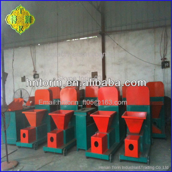 High Efficient Maple Leaves/Coconut/Bamboo Charcoal Briquette Machine Popular