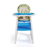 adjustable backrest baby feeding chair dinning table