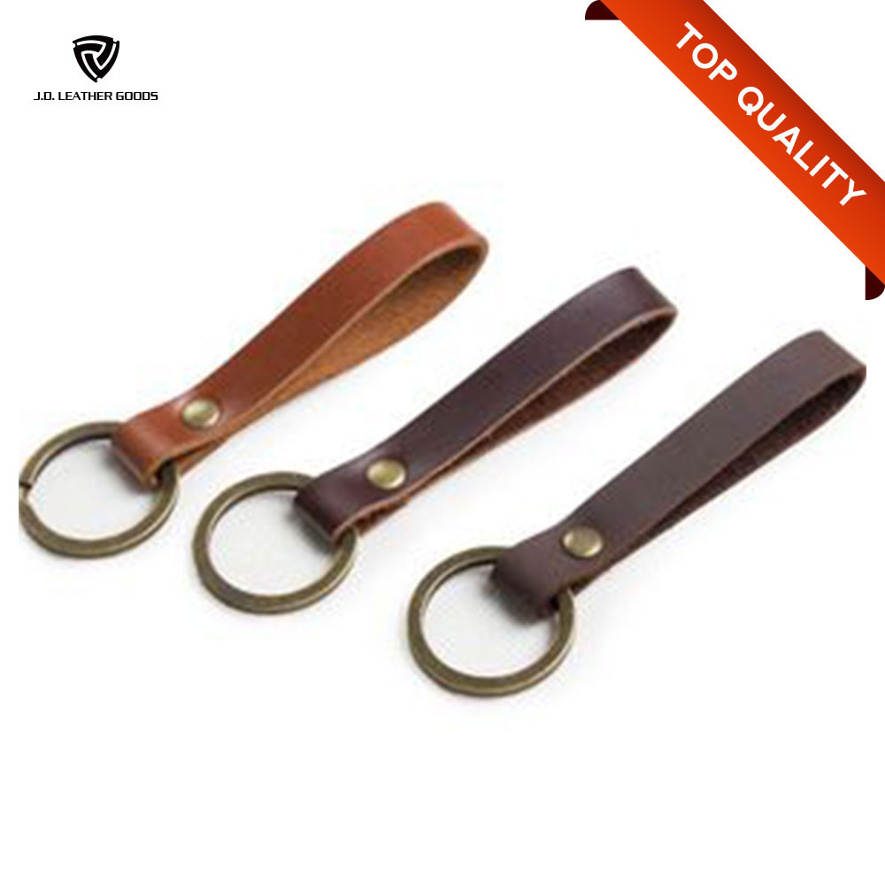 2016 High Quality Cheap Leather Keyring Wholesale