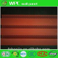 Hot sale light weight leather wrapped anti-sound acoustic panel for wall WPC wall panel