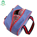 New portable polyester fabric insulated small school lunch bag
