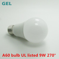 shenzhen ul listed a19 bulb dimmable 10w globe lampes led e27