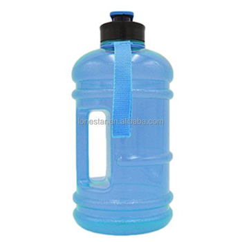 high quality gym fitness 2.2l gym shaker water bottle with handle in AU