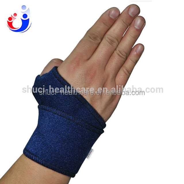 Hot sale Sports Double Wrist Bands Tennis Wrist Sports Protector