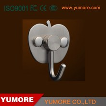Hot stainless steel decorative coat and hat hooks