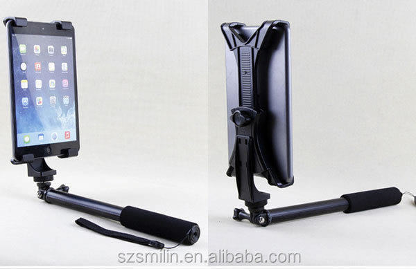Factory supply high quality universal Mobile Phone&Tablet PC Stand Holder for Tripod Mount Self Stick Clip Mount