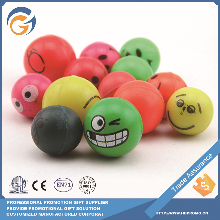Directory Toy Expandable Logo Printing Jumping Ball