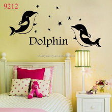 New Arrival Cute Dolphin Wall Decals Removable Wall Decals