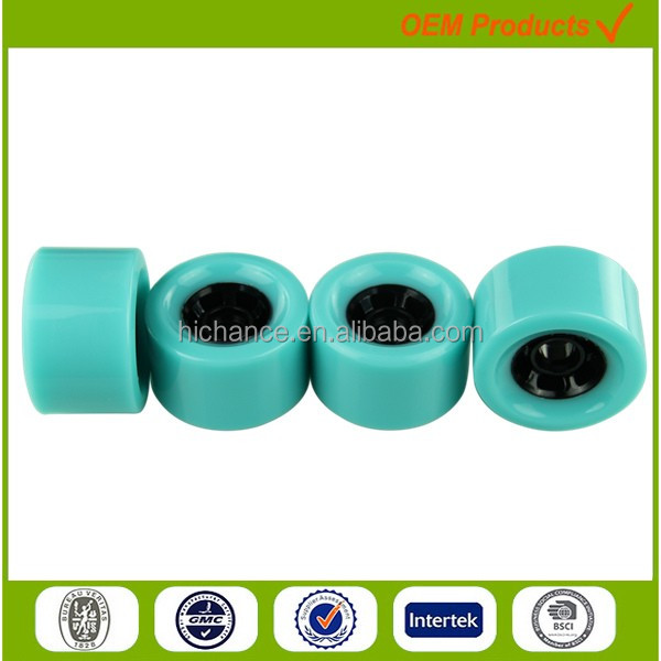 83mm good quality high rebound longboard wheel wholesale PU skate wheels