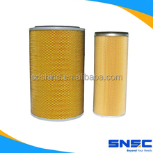 Filter filter, filter filter WG9719190001 and Sino truck WG9719190002 air filter set, filter filter K3046