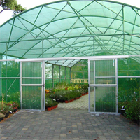 High quality round flat sun agricultural shade netting with customized sizes