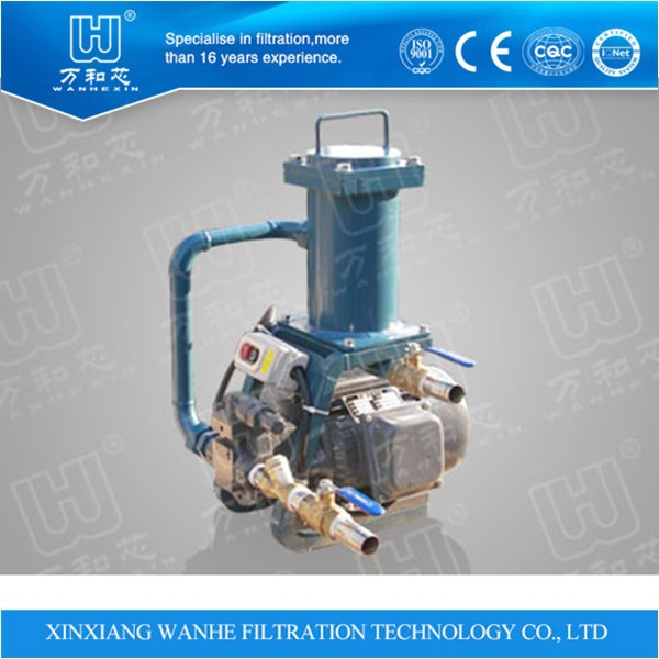 Movable Oil Filter Machine Hydraulic Lubrication System USE