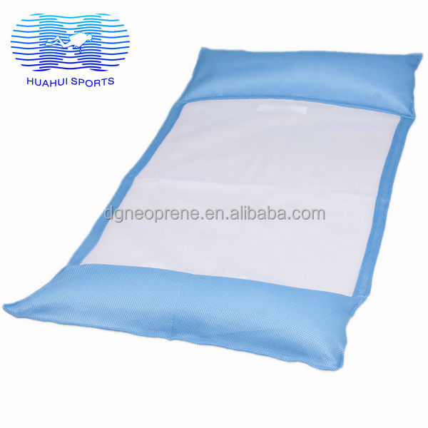 Pool Swimming Floating Mat With Two Pillows