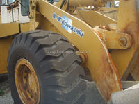 used strong power KAWASAKI Wheel Loader 80Z 70Z 90Z Original japan machine cheap for sale