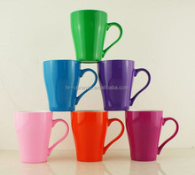 2016 wholesale plain colorful ceramic cups mugs avalible for OEM logo printing for the advertising,promotional and souvenir
