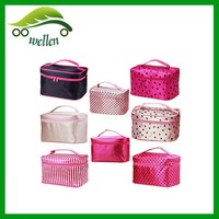 Lady cosmetic case makeup storage