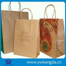 Cheap wholesale Brown kraft Paper Bag