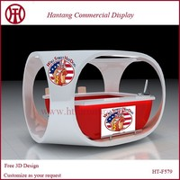 Customize Outdoor Mobile Hot Dog Kiosk With Your Logo