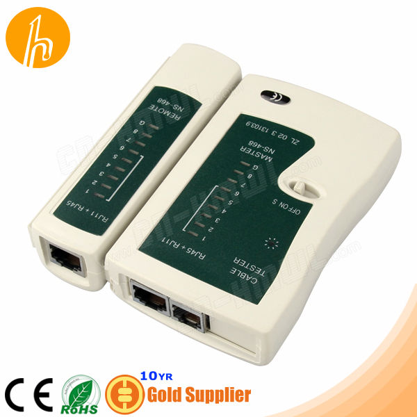 Quality assurance BNC RJ12 and RJ45 network Cable Fast tester