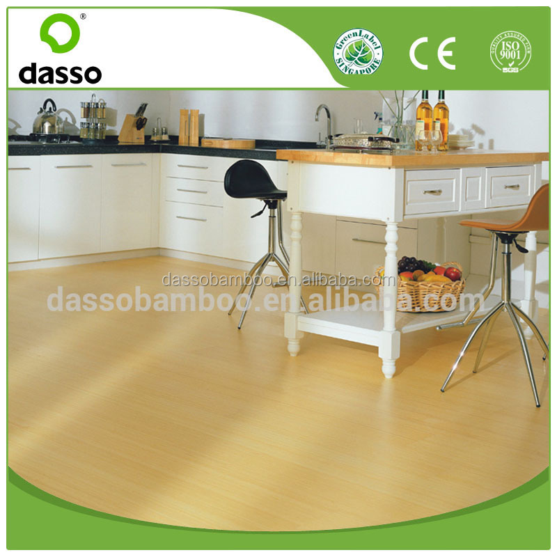Dasso floating engineered bamboo floor bamboo indoor flooring Stained Strand Woven Bamboo Flooring