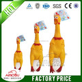 chicken shaped soft rubber dog toy