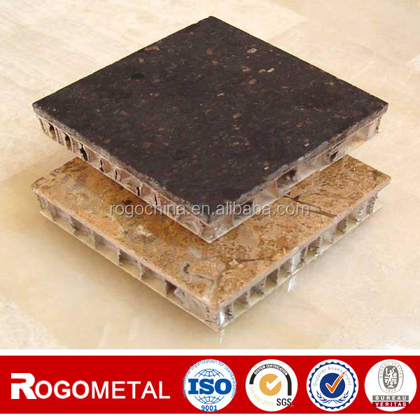 Side length 1.83mm stone panel aluminum honeycomb manufactured in China