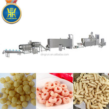 Puffed oats bread food processing line