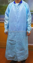 Waterproof Hospital Sterile Isolation Gown/ Surgical Gown