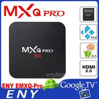 With Kodi 16.0 MXQ Pro Enybox Google 4K Internet TV Box MXQ Pro With Amlogic S905 H.265 Hardware MXQ OTT TV Box