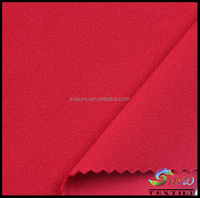 Pure Color Dyed Polyester Spandex blend fabric scuba Fabric