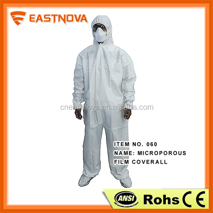 Non-toxic protector non-woven apply dust lab coat