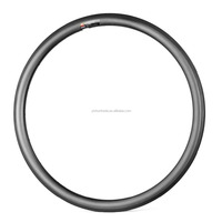 2016 YISHUNBIKE carbon rim wider tire design for road 700c 33mm height 26mm width clincher bicycle rim