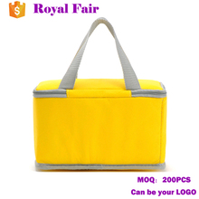 Custom 600D Take away food package insulated cooler bag