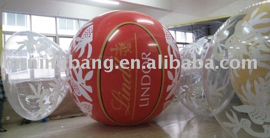 water PVC inflation balloon