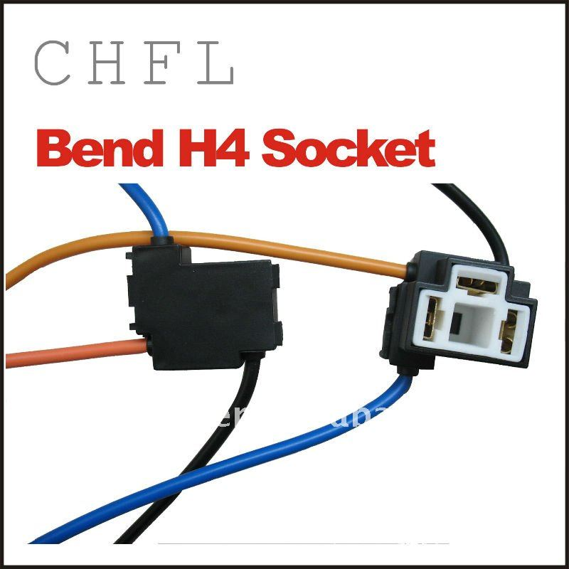 H7 Heavy Duty Headlight Wire Harness Socket ( Ceramic ,Terminal ,Cover)