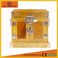Chinese antique mirror handmade wooden jewelry boxes