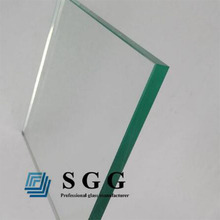 Custom size tempered glass thick 12mm impact-resistant glass