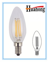 China distributor decorative led filament candle bulb LED lamps ebay china 2W
