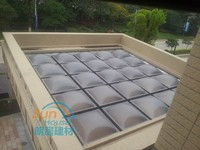 solid polycarbonate sheet thermal forming skylight roofing