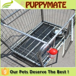 High quality dog cage with wheels removable Dog Cage, Dog House wiht many doors