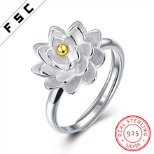 Fine Jewelry 925 Silver Cute Sun Flower Wedding Ring Designs Without Stones for Lady